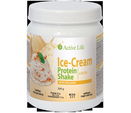 Zmrzlinový proteinový koktejl s kolagenem tianDe