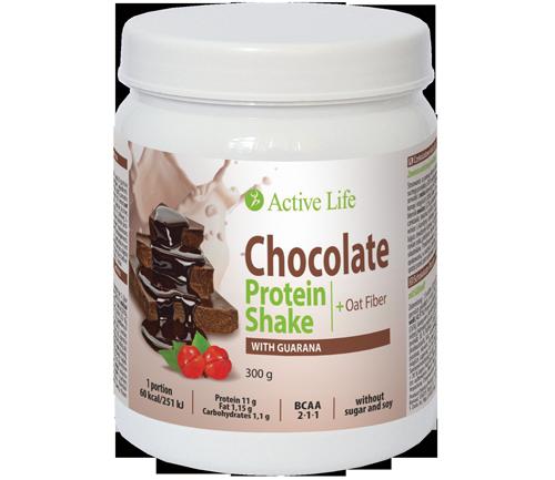Čokoládový proteinový koktejl tianDe s guanaranou